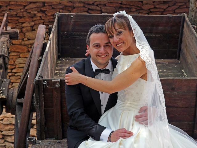 La boda de Cristian y Abigail en Carrion De Calatrava, Ciudad Real 8