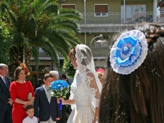 La boda de Cristian y Abigail en Carrion De Calatrava, Ciudad Real 19
