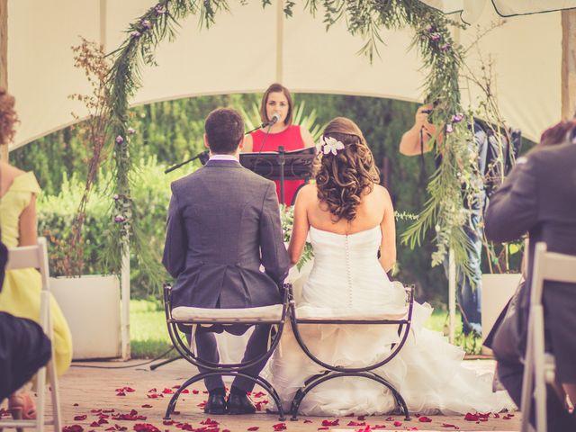 La boda de Adrián y Roser en L' Alcúdia, Valencia 1