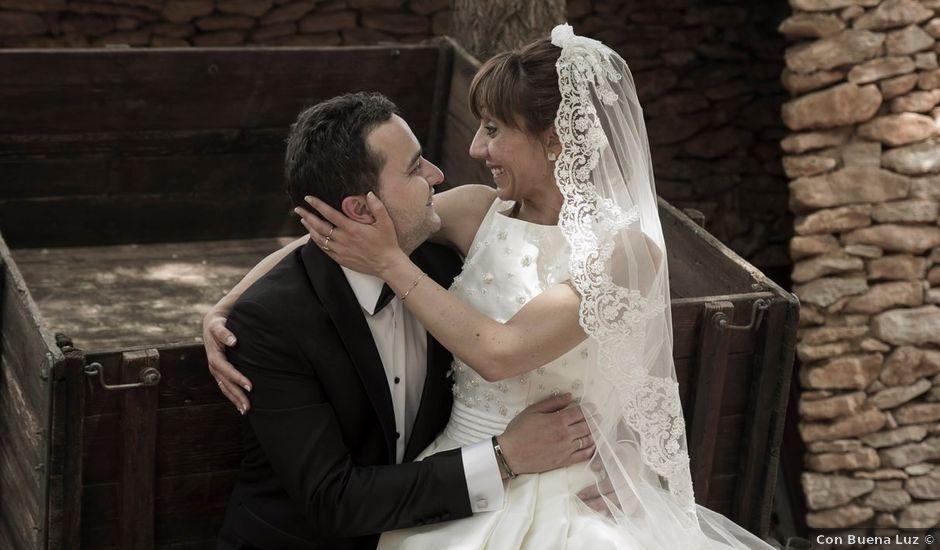 La boda de Cristian y Abigail en Carrion De Calatrava, Ciudad Real