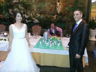 La boda de Antoni Vicent y Trinidad