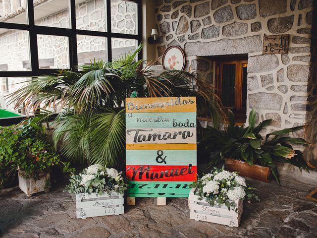 La boda de Manuel y Tamara en El Berrueco, Madrid 1