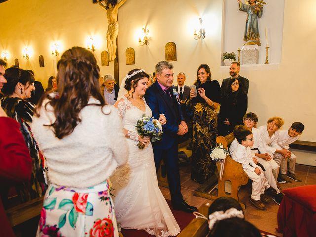 La boda de Manuel y Tamara en El Berrueco, Madrid 45