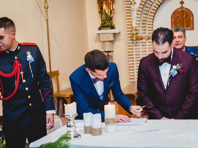 La boda de Manuel y Tamara en El Berrueco, Madrid 80