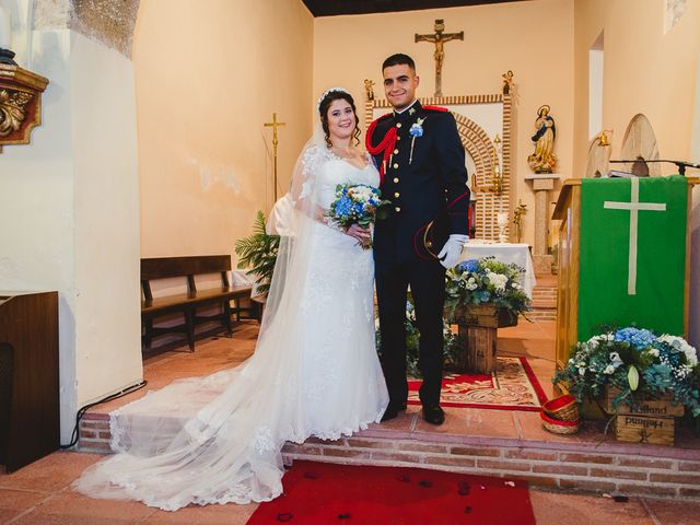 La boda de Manuel y Tamara en El Berrueco, Madrid 88