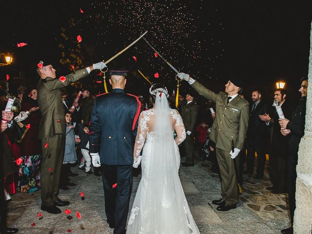 La boda de Manuel y Tamara en El Berrueco, Madrid 90