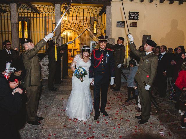 La boda de Manuel y Tamara en El Berrueco, Madrid 92