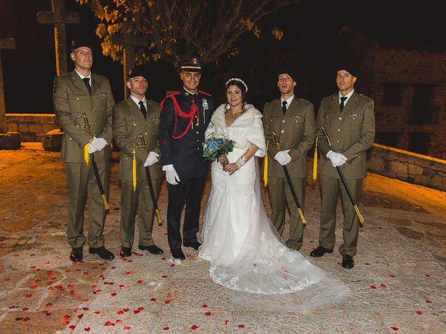 La boda de Manuel y Tamara en El Berrueco, Madrid 94