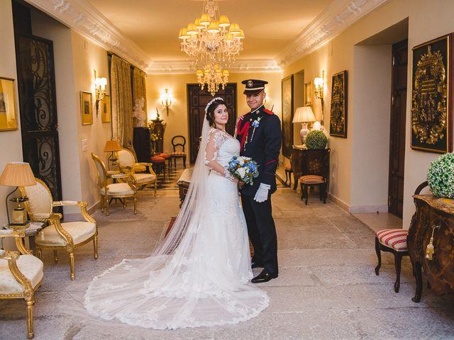 La boda de Manuel y Tamara en El Berrueco, Madrid 104