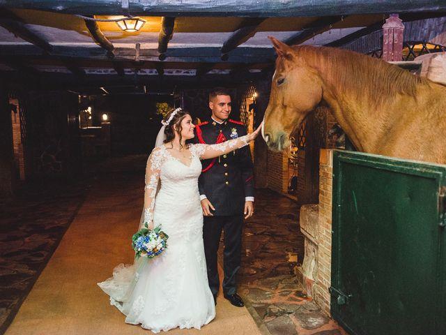 La boda de Manuel y Tamara en El Berrueco, Madrid 112