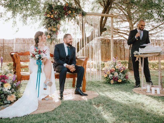 La boda de Iván y Alba en Pedro Muñoz, Ciudad Real 15