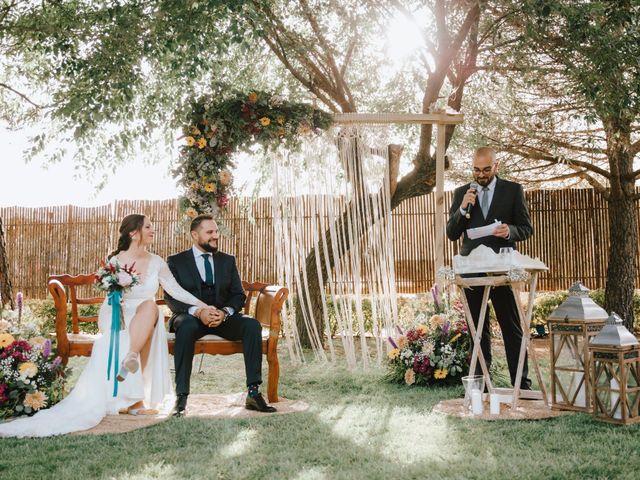 La boda de Iván y Alba en Pedro Muñoz, Ciudad Real 16