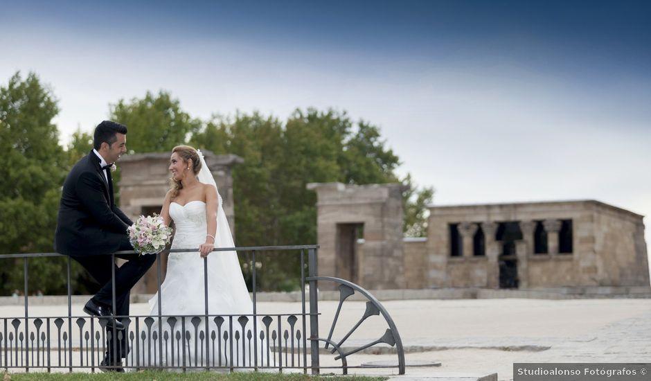La boda de Sergio y Sandra en Coslada, Madrid