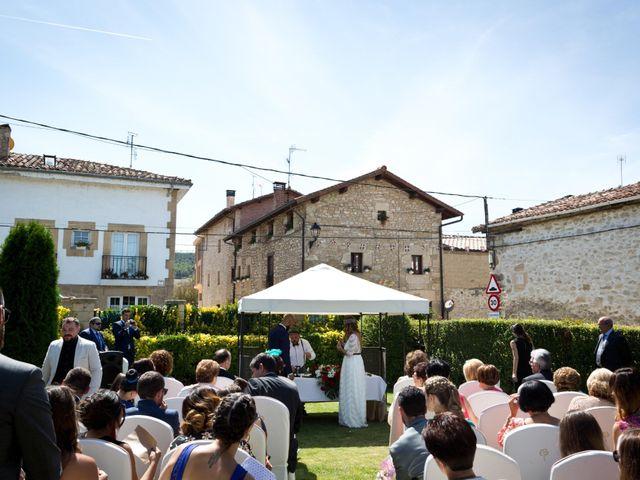 La boda de Manu y Gema en Berantevilla, Álava 19