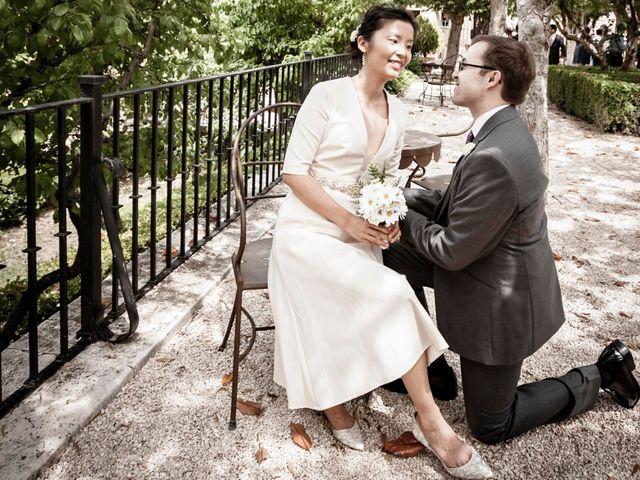 La boda de Yu Chen y Jacobo