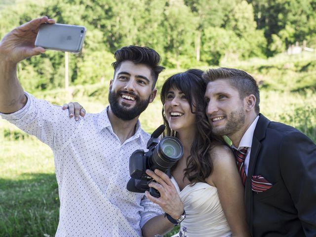 La boda de Jordi y Laura en La Vall De Bianya, Girona 1