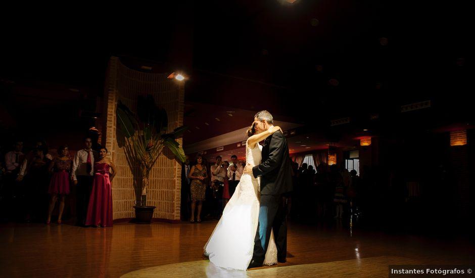 La boda de alberto y ana en alcal de henares madrid for Muebles ana mari alcala de henares