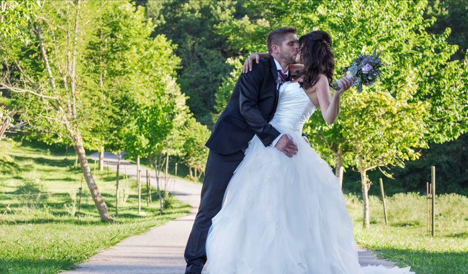 La boda de Jordi y Laura en La Vall De Bianya, Girona