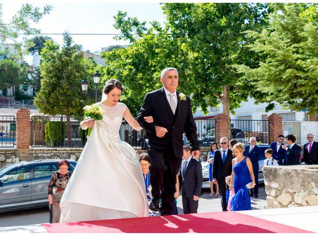 La boda de Raúl y Belén en Algarinejo, Granada 11
