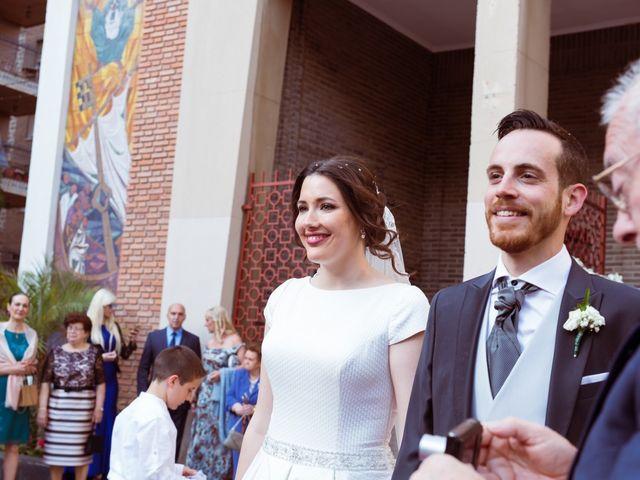 La boda de Raúl y María en Murcia, Murcia 33