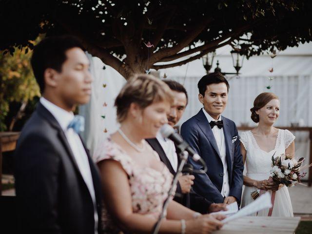 La boda de Visoth y Beatriz en Altea, Alicante 32