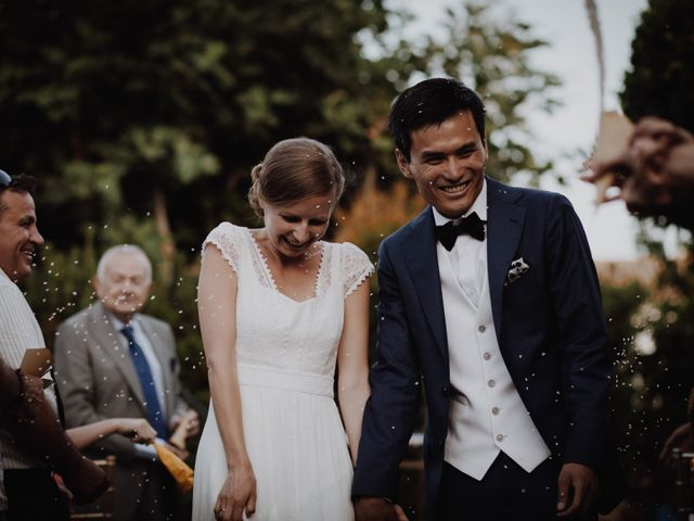 La boda de Visoth y Beatriz en Altea, Alicante 40