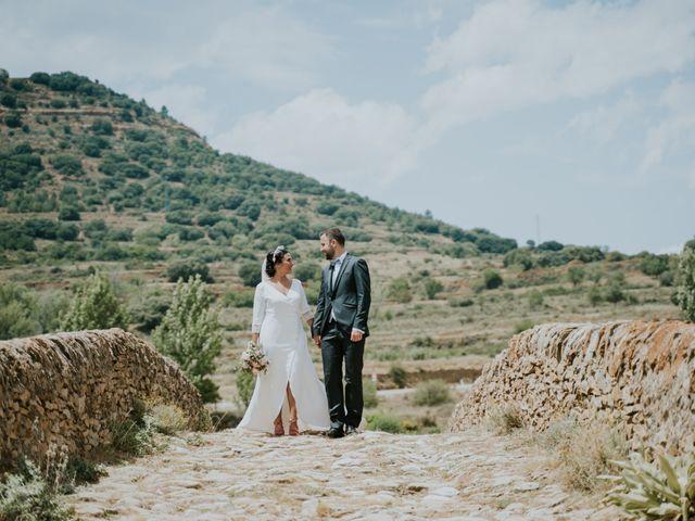 La boda de Albert y Fátima en Catí, Castellón 39