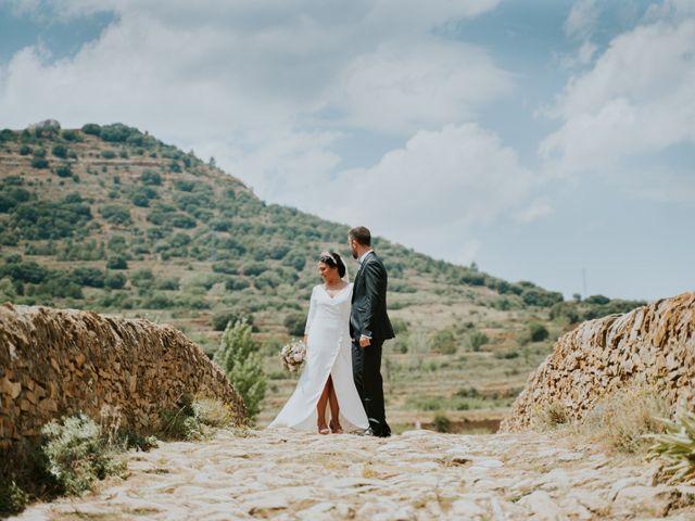 La boda de Albert y Fátima en Catí, Castellón 40