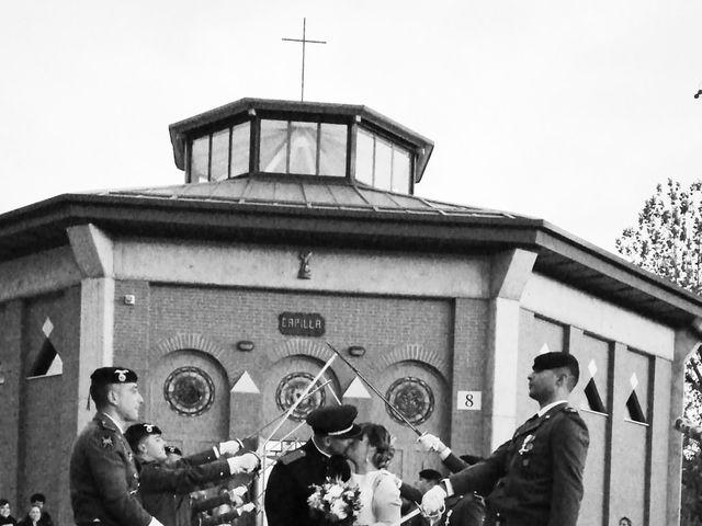 La boda de Saul y Eva en Paracuellos De Jarama, Madrid 1