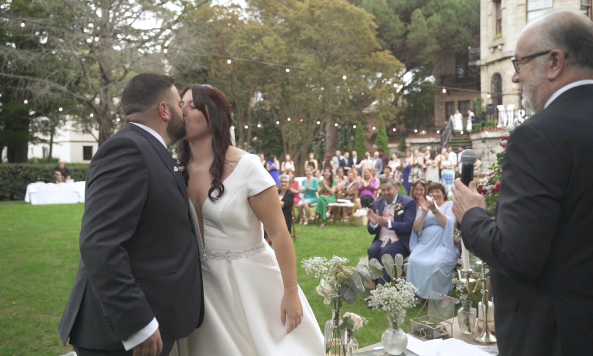 La boda de Mertxe y Mikel en Las Arenas, Vizcaya