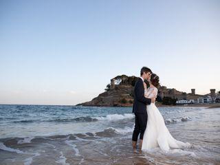 La boda de Amat y Diana