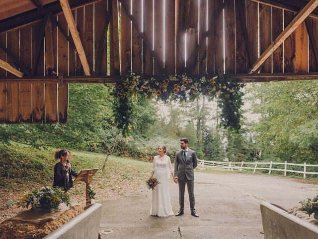 La boda de Aitor y Garazi en Markina-xemein, Vizcaya 75