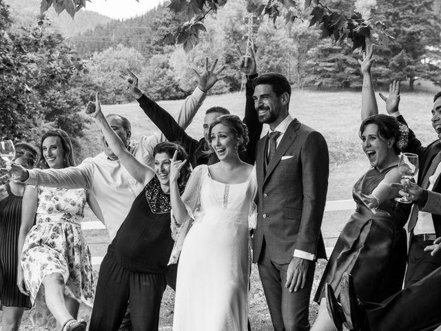 La boda de Aitor y Garazi en Markina-xemein, Vizcaya 93