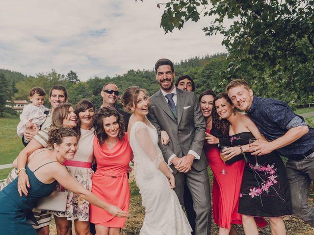 La boda de Aitor y Garazi en Markina-xemein, Vizcaya 94