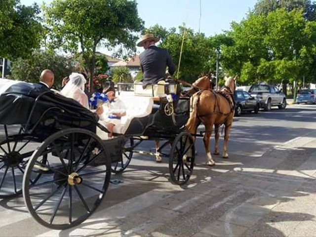 La boda de Diego y Natalia en San Jose Del Valle, Cádiz 1