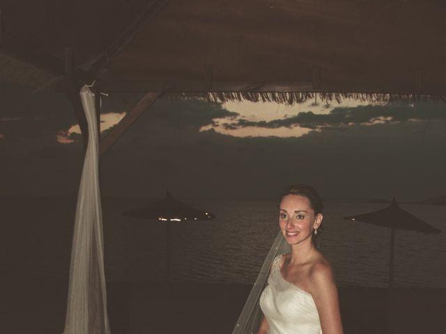 La boda de Juan y Carmen en La Manga Del Mar Menor, Murcia 17
