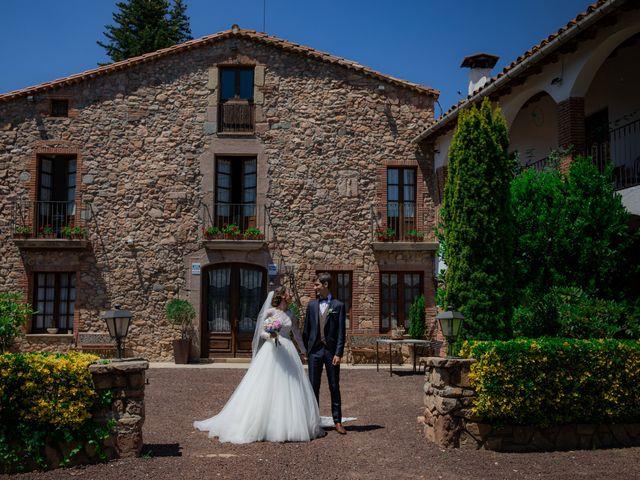 La boda de Diana y Amat en Arbucies, Girona 1