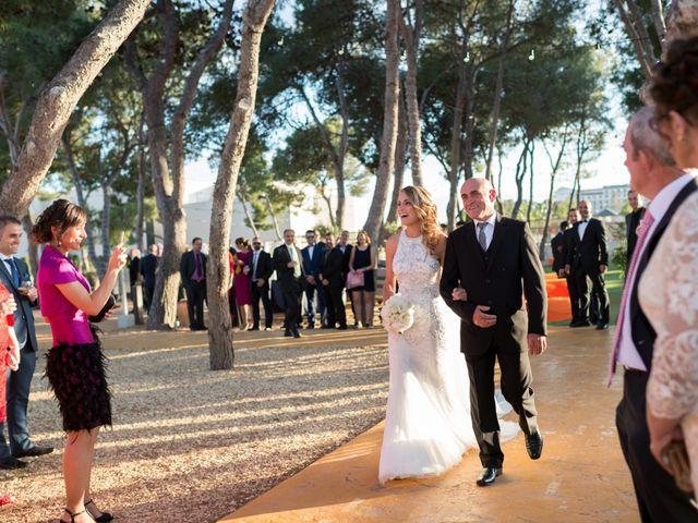 La boda de David y Cristina en Benicàssim/benicasim, Castellón 19