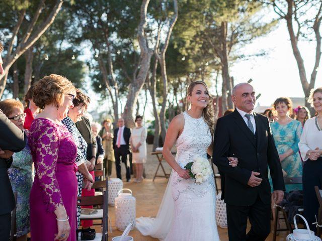 La boda de David y Cristina en Benicàssim/benicasim, Castellón 20