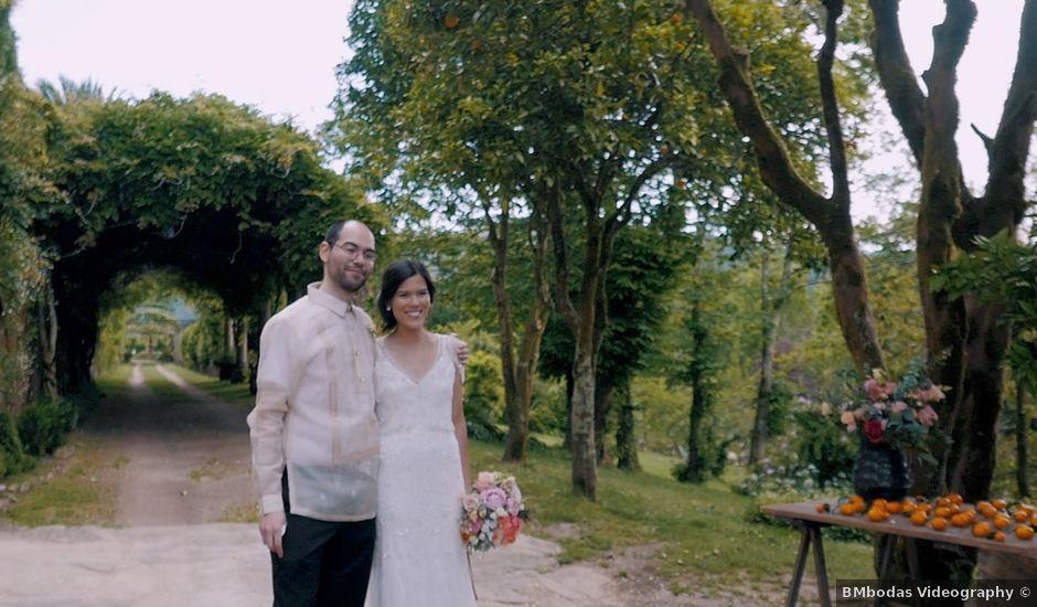 La boda de Bengt y Monica en Santiago De Compostela, A Coruña