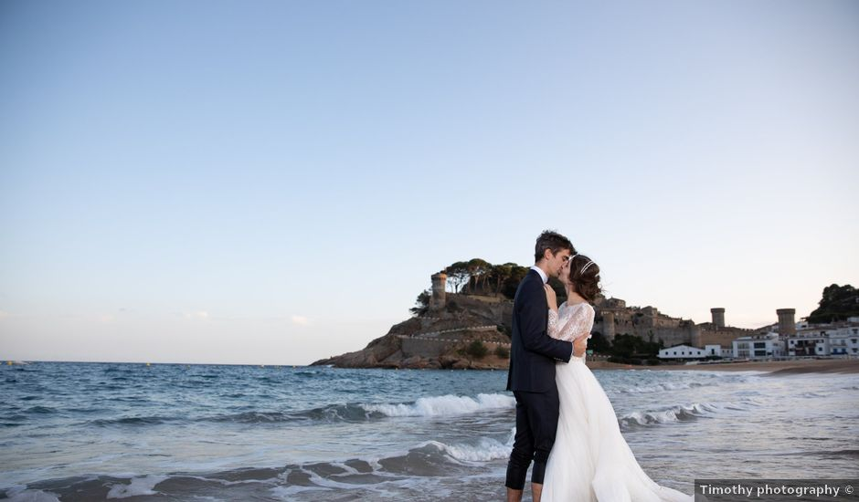La boda de Diana y Amat en Arbucies, Girona