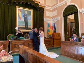 La boda de Carolina  y Idelio  1