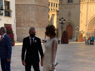 La boda de Carolina  y Idelio  2