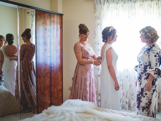 La boda de Sergio y Sandra en Yepes, Toledo 1