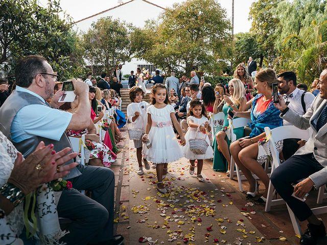 La boda de David y Yaiza en San Cristóbal de La Laguna, Santa Cruz de Tenerife 73