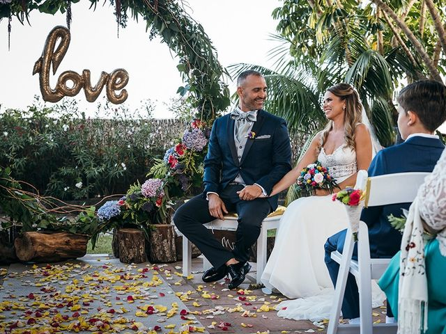 La boda de David y Yaiza en San Cristóbal de La Laguna, Santa Cruz de Tenerife 82