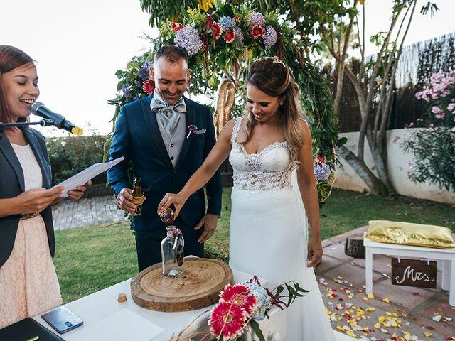 La boda de David y Yaiza en San Cristóbal de La Laguna, Santa Cruz de Tenerife 96