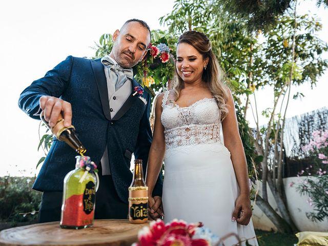 La boda de David y Yaiza en San Cristóbal de La Laguna, Santa Cruz de Tenerife 97