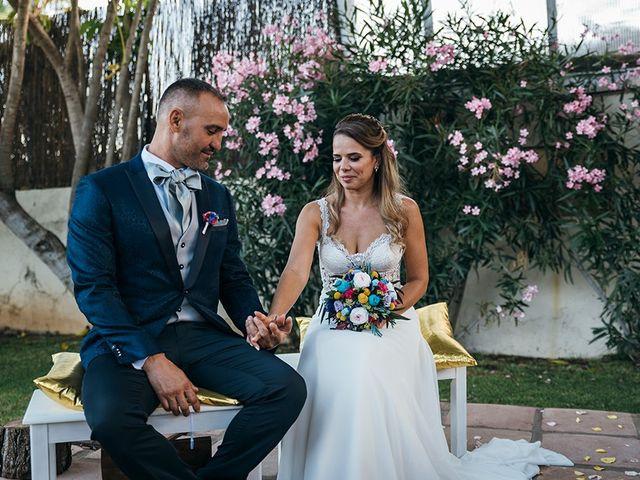 La boda de David y Yaiza en San Cristóbal de La Laguna, Santa Cruz de Tenerife 100