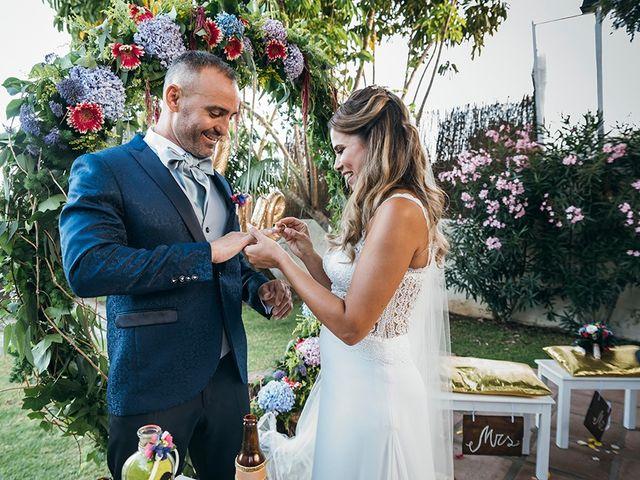 La boda de David y Yaiza en San Cristóbal de La Laguna, Santa Cruz de Tenerife 103